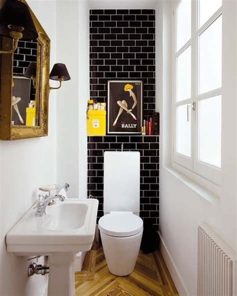 Small Black And White Bathroom by Comfortable And Small Bathroom Ideas