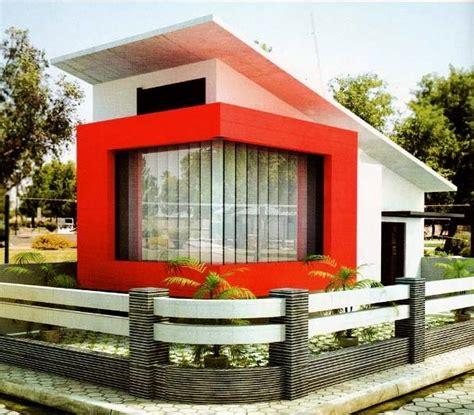 dapatkan  model rumah minimalis atap miring