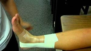 Ess281 Ankle Taping Instructions