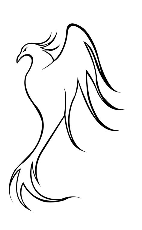 how to draw a phoenix step by step | Go Back > Gallery For > Easy Phoenix Drawing | Easy
