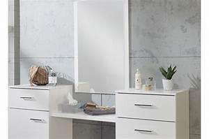 Coiffeuse Moderne Avec Miroir : coiffeuse table de maquillage moderne cbc meubles ~ Farleysfitness.com Idées de Décoration