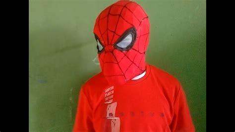 como fazer mascara homem aranha guerra civil parte 1 YouTube