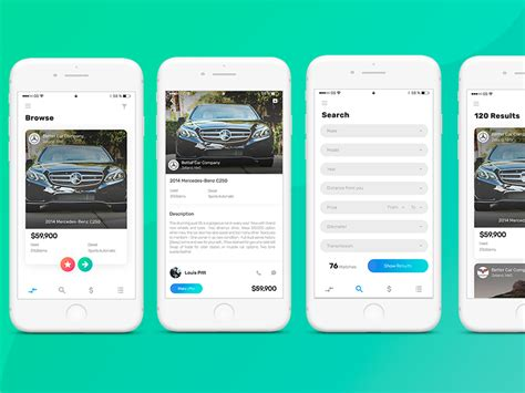 Car Designing Apps For Android 10 mobile app interface designs for your inspiration