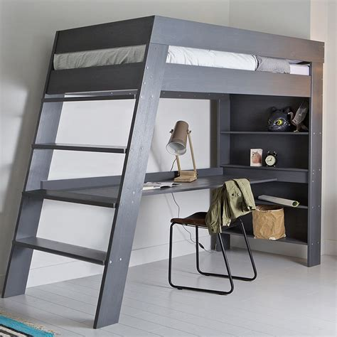 kids loft bed with desk ultra stylish and contemporary the julien kids loft bed