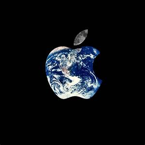 Earth Apple Logo iPad Wallpaper HD #iPad #wallpaper | iPad ...
