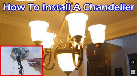 how to fit a chandelier install 6 light chandelier in dining room