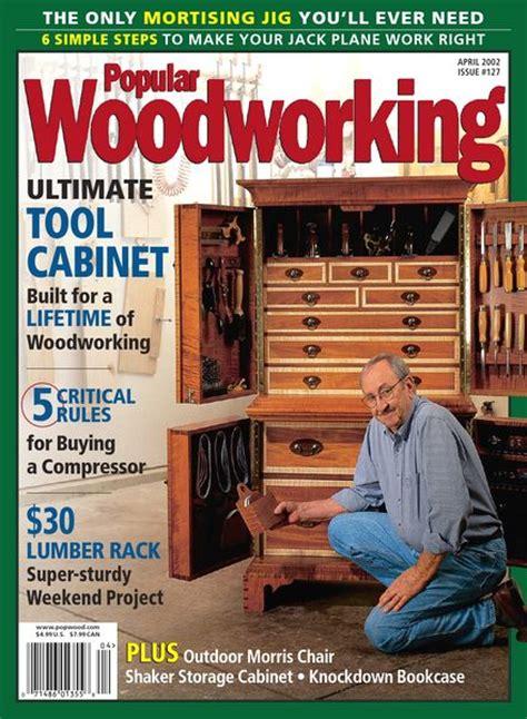 popular woodworking magazine index