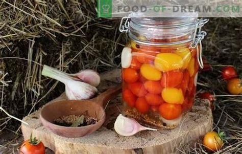 Ķiršu tomāti ziemai - mazliet asa maz prieka! Receptes ...