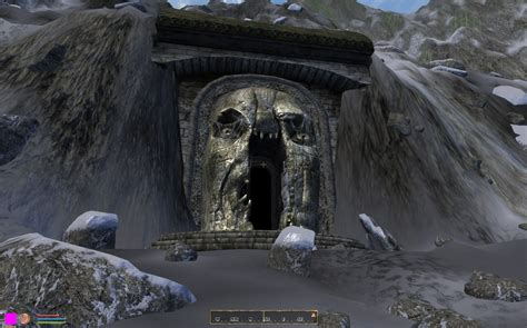 Goblin holes in the cave wall. MERP goblin Cave at Oblivion Nexus - mods and community