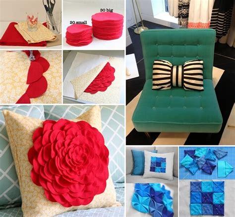 Decorative Pillow Ideas by 10 Chic Diy Decorative Pillow Ideas