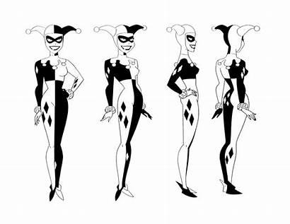 Quinn Harley Batman Animated Series Bruce Timm