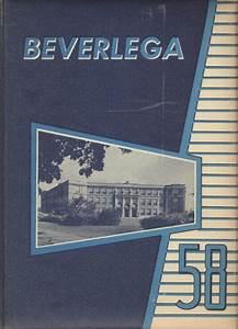 Explore 1958 Beverly High School Yearbook, Beverly MA ...