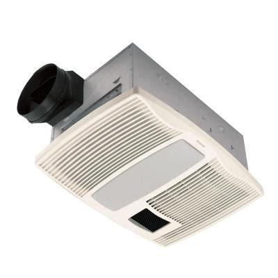 home depot heater fan broan qtx series very quiet 110 cfm ceiling exhaust bath