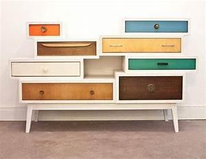 Commode à Tiroirs : recycler de vieux tiroirs ~ Teatrodelosmanantiales.com Idées de Décoration