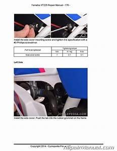 Yamaha Xt225 Serow Cyclepedia Motorcycle Service Manual In Print