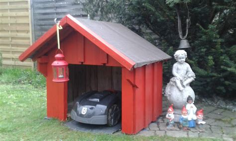 Garage Für Den Automower 305 Selbst Bauen  Oder Kaufen