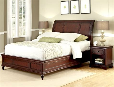 Home Styles Lafayette King Sleigh Bed And Night Stand By