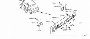Infiniti Qx60 Rear Body Panel Bracket  Right  Rear