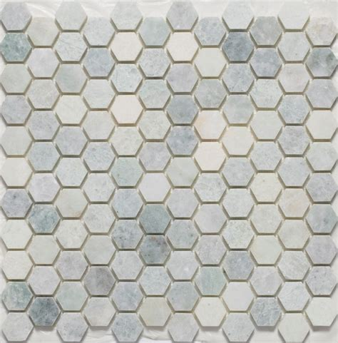 hexagon tile floor hexagon mosaic tiles traditional mosaic tile by mission stone tile