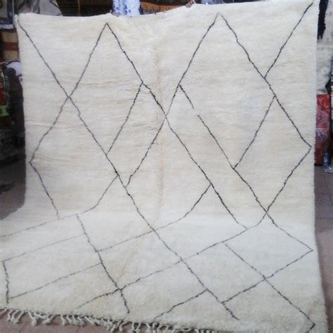 tapis beni ouarain du moyen atlas marocain marrakech