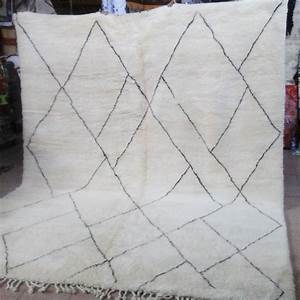 Tapis Berbere Laine : tapis beni ouarain du moyen atlas marocain marrakech artisanat du sud ~ Teatrodelosmanantiales.com Idées de Décoration