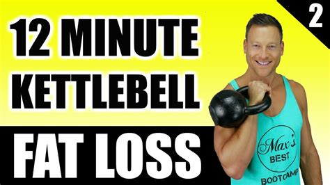 kettlebell workout fat loss burning minute routine bootcamp workouts ultimate play