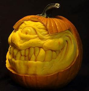 55, Epic, Scary, 3d, Pumpkin, Carving, Face, Ideas, From, Talented, Carvers, 2018
