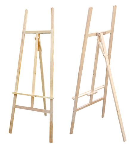 how to build an easel plans