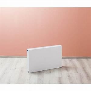 Radiateur Largeur 50 Cm : radiateurs panneaux banio type 33 plat couleur blanc ~ Premium-room.com Idées de Décoration