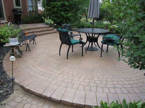 outdoor brick paint paver patio ideas for enchanting backyard amaza design