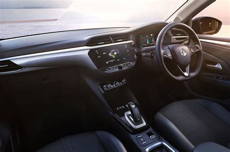 vauxhall corsa  official pics  electric hatch