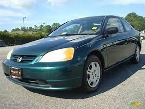 Honda Civic 2002 : 2002 clover green metallic honda civic lx coupe 30367435 car color galleries ~ Dallasstarsshop.com Idées de Décoration
