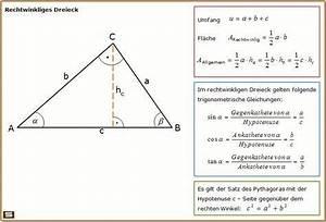 Sws Berechnen : rechtwinkliges dreieck formel zu fl chenberechnung und trigonmetrische verh ltnisse schule ~ Themetempest.com Abrechnung