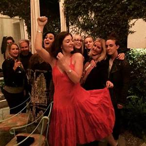 Taylor Swift's pals Lorde and Ellie Goulding party with ...