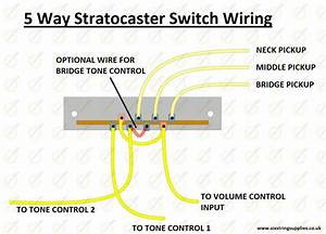 5 Way Switch Wiring For Fender Strat