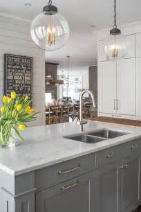 kitchen island different color than cabinets 25 best ideas about gray island on gray and