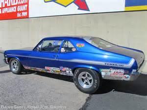 Old Pontiac Drag Race Car