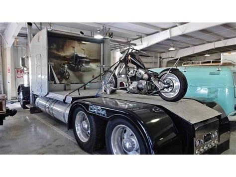 2000 Peterbilt 379 Custom Bike Hauler For Sale