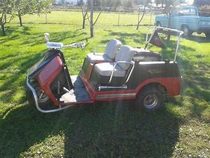 Harley Davidson Gas 3 Wheel Golf Cart For Sale