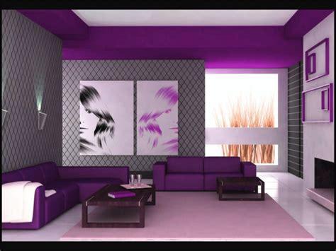 inilah cat rumah ungu kombinasi  unik  menarik