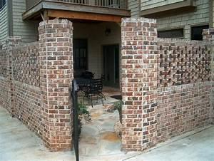 Brick walls Patio contractor atlanta by ARNOLD Masonry and ...
