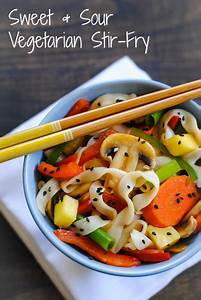 Sweet & Sour Vegetarian Stir-Fry - Foxes Love Lemons