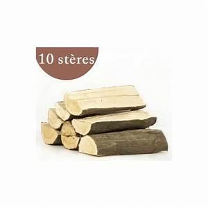 Bois De Chauffage 35 : 10 st res de bois de chauffage en 50 cm fendu ch ne h tre ~ Dallasstarsshop.com Idées de Décoration