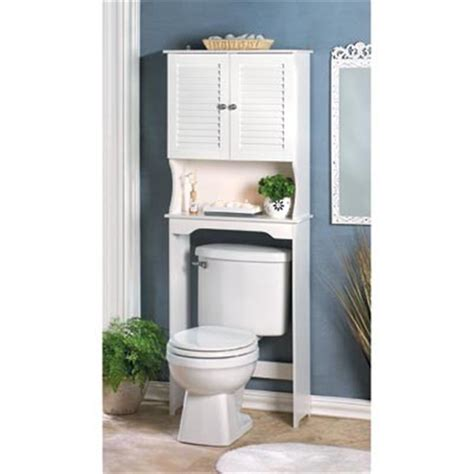 Bathroom Storage Shelf Cabinet Over Toilet Space Saver