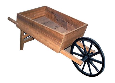 Garden Wood Benches by Amish Handcrafted Cedar Wood Wheelbarrow