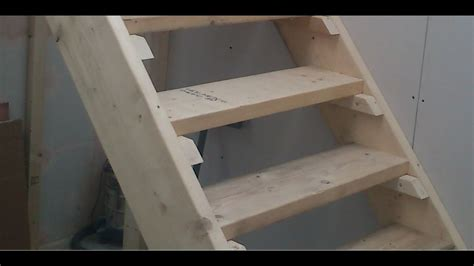 build stairs easy steps diy staircase youtube