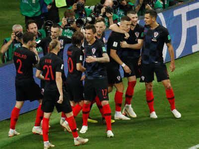 Fifa World Cup Croatia Beat England Twirp