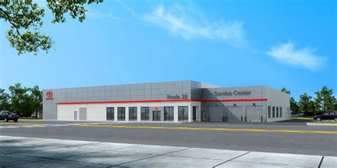 Toyota Route 22 by Ground Breaks At Route 22 Toyota Service Center