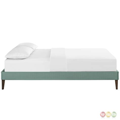 Laguna King Platform Bed With Headboard by Modern King Fabric Platform Bed Frame With Square