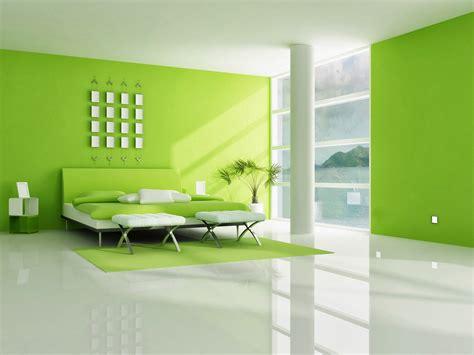 interior de casa en color verde limon fondos de pantalla
